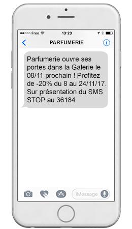 réglementation sms