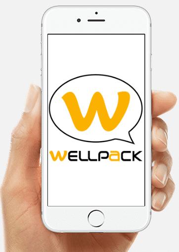 wellpack phone