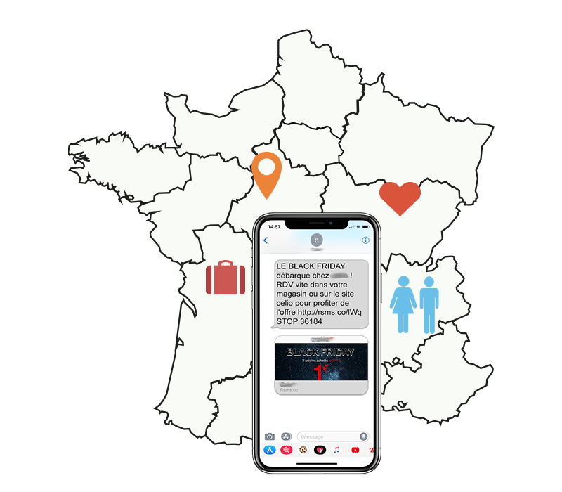 campagne SMS nationale