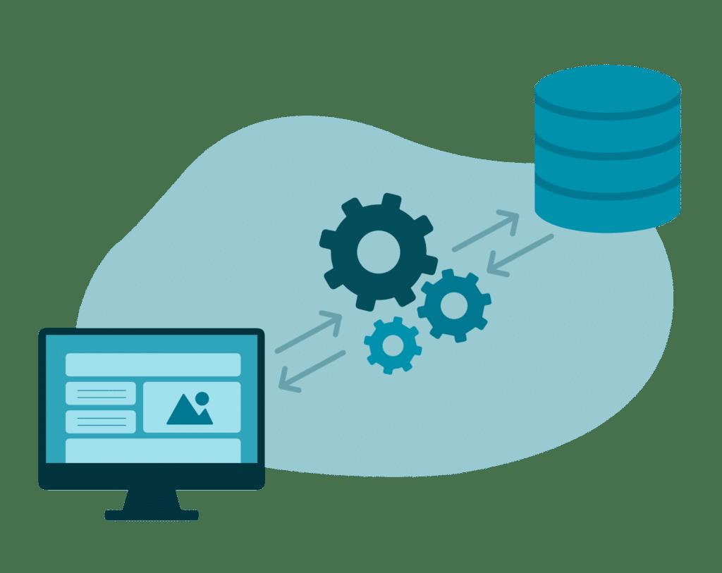 Schéma du fonctionnement de l'API