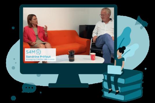 « Les grands témoins » épisode 2 : Sandrine Préfaut, Managing Director – S4M